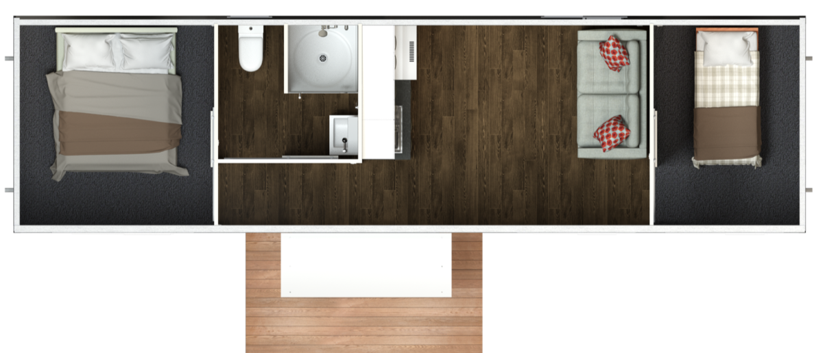 10 4 Two Bedroom Option 2