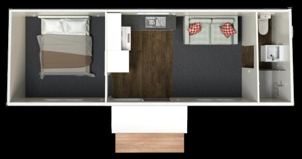 8.4 One Bedroom