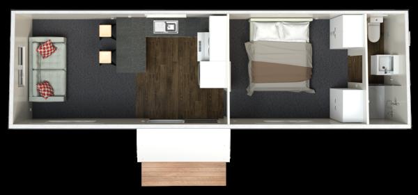 9.4 One Bedroom Superior